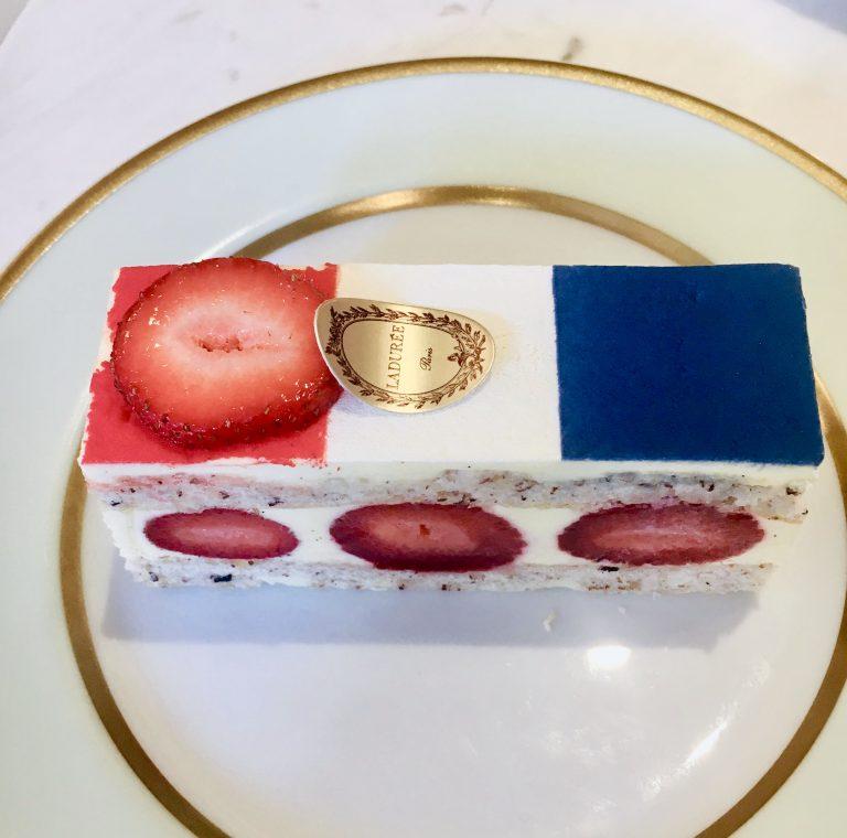 Ladurée Bastille Day Pastry