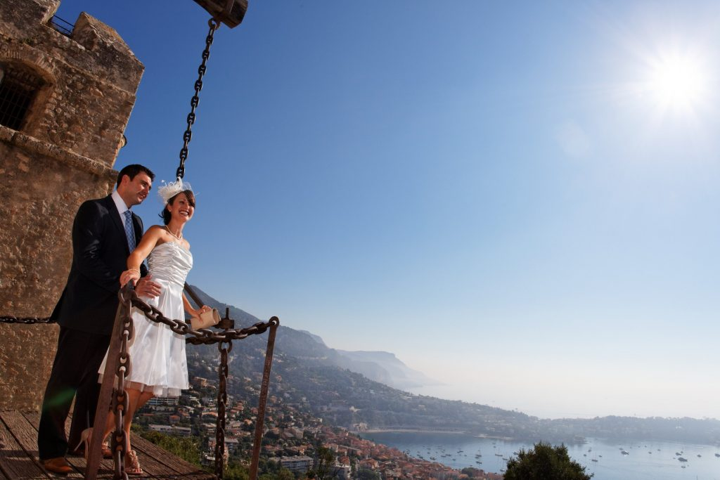 wedding on the French Riviera