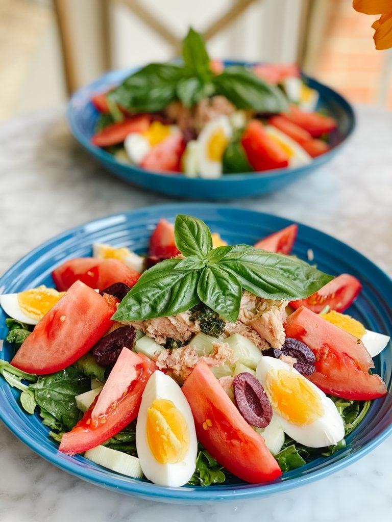 Niçois salad with Pesto
