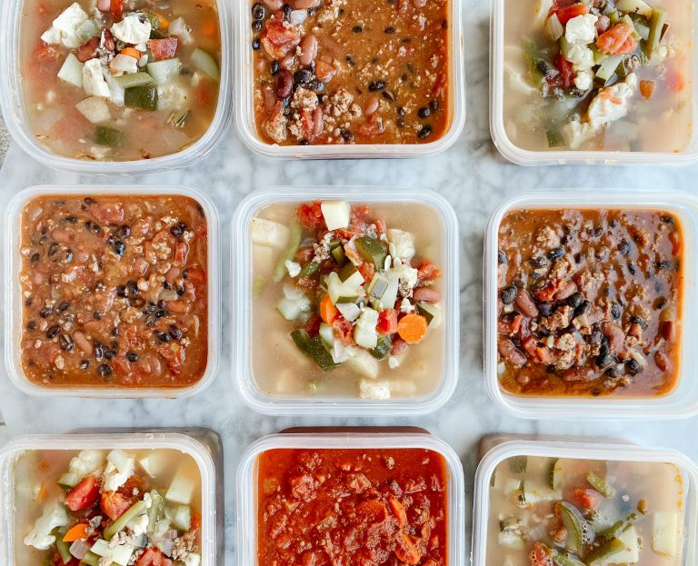 Healthy Freezer meal batch cooking