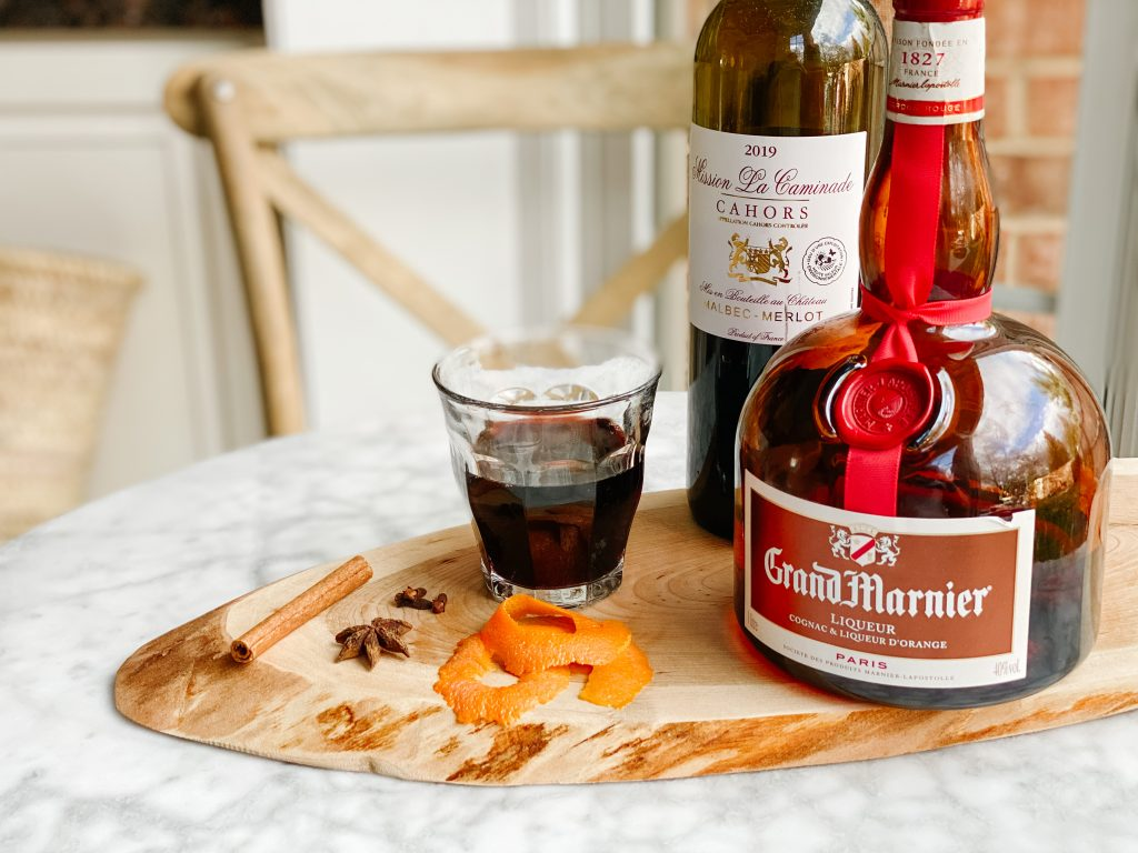 vin chaud au grand marnier