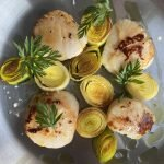 Chef's scallops