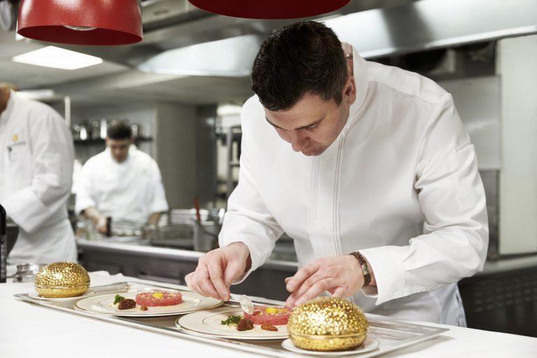 Chef Sebastien Giannini at the St Regis Washington DC